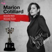 Marion Cotillard recibirá un Premio Donostia en la 69 edición del Festival de San Sebastián