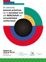 """Apertura del 4 concurso """"Buenas Prácticas de la Sociedad Civil del MERCOSUR en Accesibilidad Audiovisual"""""""