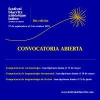 Abierta la convocatoria para el 30 Festival Biarritz Amérique Latine