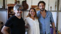 """El cineasta Rodrigo Malmsten filma """"Laura"""", con Luciano Cáceres y Natacha Delgado"""