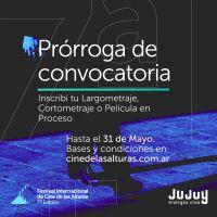 Se extiende la convocatoria para participar del Festival Internacional de Cine de las Alturas