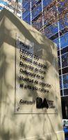 Se inaugura la puesta en valor de la plaza Leopoldo Torre Nilsson