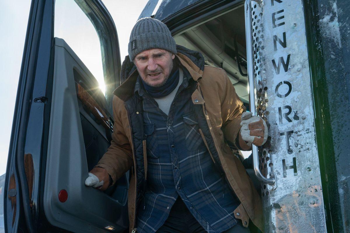 """Crítica de """"The Ice Road"""", Liam Neeson y un thriller bajo cero    EscribiendoCine"""