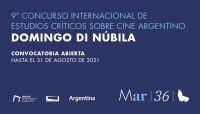 """Abre la convocatoria para el Concurso Internacional de Estudios Críticos sobre Cine Argentino """"Domingo Di Núbila"""""""